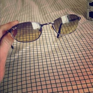 Ray bans with I'd number no fakes just used